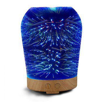 Fireworks Colour Changes 3D Humidifier Night Light - COLORFUL