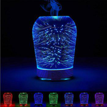 Fireworks Colour Changes 3D Humidifier Night Light