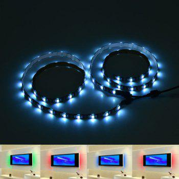 APP Control USB Bluetooth Smart LED 2pcs TV Light Strip - COLORFUL COLORFUL