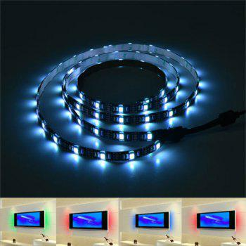 APP Control Smart USB Bluetooth LED TV Light Strip - COLORFUL COLORFUL
