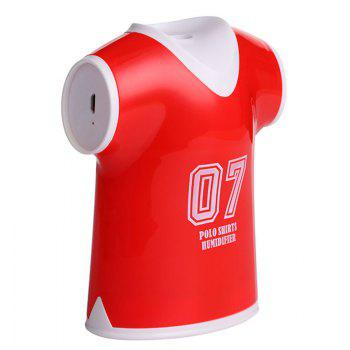 Mini Air Purifier USB Polo Shirts Humidifier -  RED