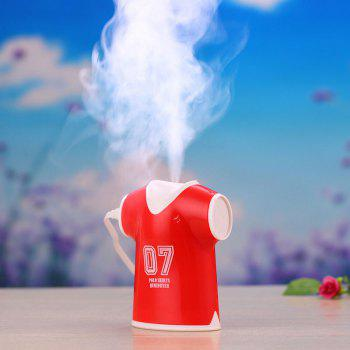 Mini Air Purifier USB Polo Shirts Humidifier - RED RED