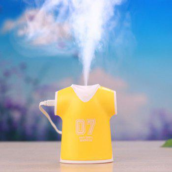 Mini Air Purifier USB Polo Shirts Humidifier - YELLOW YELLOW