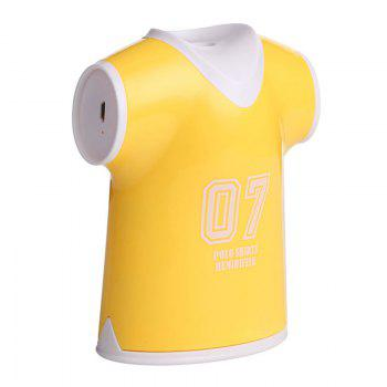 Mini Air Purifier USB Polo Shirts Humidifier -  YELLOW
