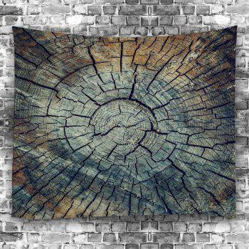 Stump Texture Hanging Decorative Wall Tapestry - COLORMIX W59 INCH * L59 INCH