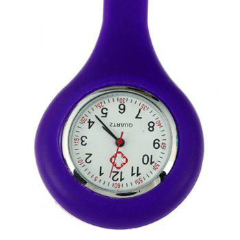Silicone Nurses Fob Watch -  PURPLE