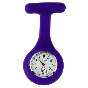 Silicone Nurses Fob Watch - PURPLE PURPLE