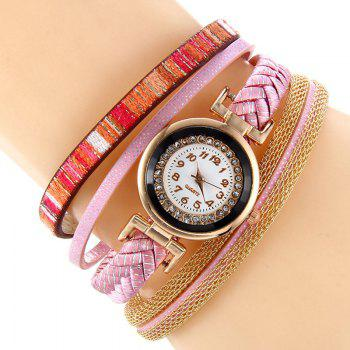 Chain Braided Bracelet Watch