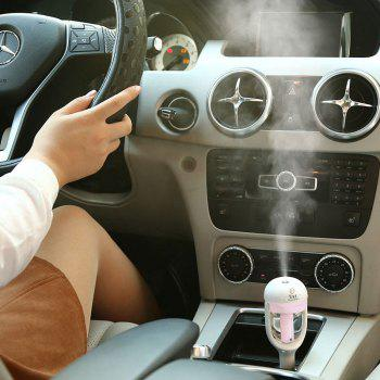 Creative Portable Mini Aromatherapy Car Humidifier - PINK PINK