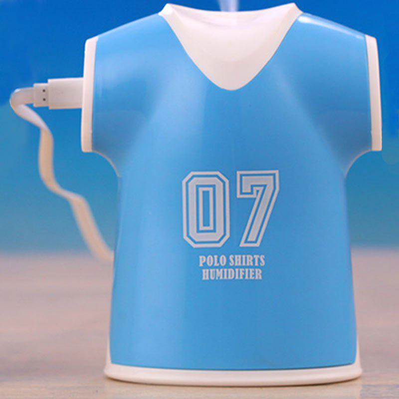 Mini Air Purifier USB Polo Shirts Humidifier - BLUE