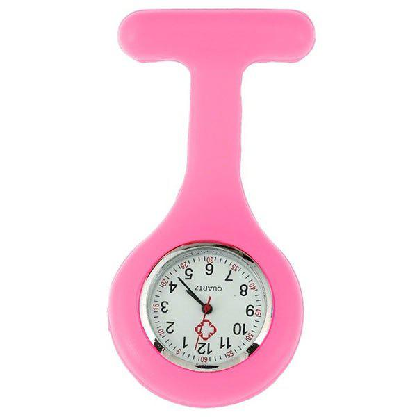 Silicone Nurses Fob Watch - PINK