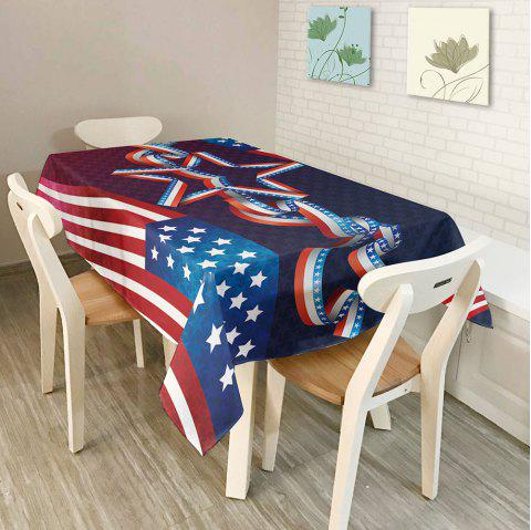 Kitchen Product American Flag Dustproof Table Cloth - COLORMIX W54 INCH * L72 INCH