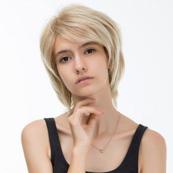 Side Bang Colormix Layered Straight Short Synthetic Hair - COLORMIX