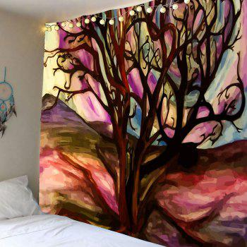 Life of Tree Oil Painting Wall Tapestry
