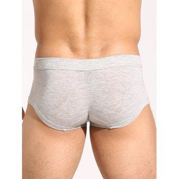 U Convex Pouch Plain Trunks - OYSTER OYSTER