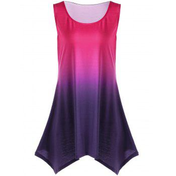 Plus Size Ombre Tunic Top