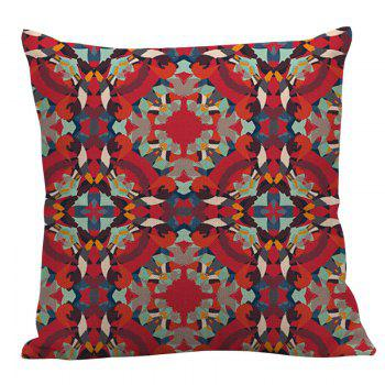 Bohemian Geometric Decorative Pillow Case - RED 45*45CM