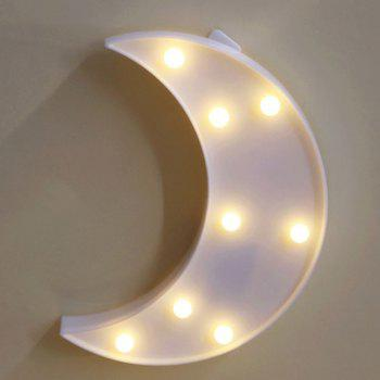Lampe de nuit décorative LED Moon Table Night - Blanc