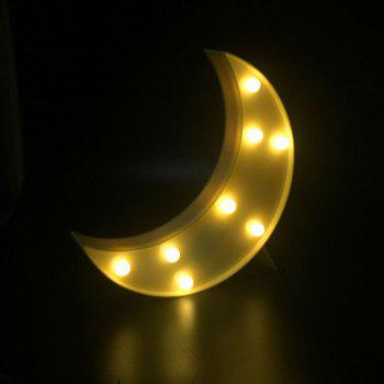 Lampe de nuit décorative LED Moon Table Night - Jaune