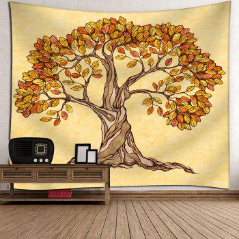 Artistic Tree Wall Hanging Beach Throw Tapestry