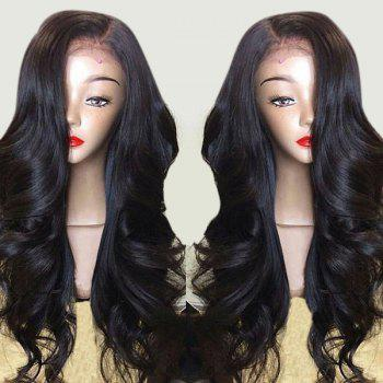 Long Side Part Body Wave Lace Front Synthetic Wig