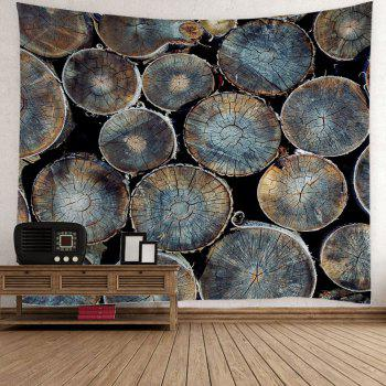 Natural Wood Fabric Wall Decor Hanging Tapestry - COLORMIX COLORMIX