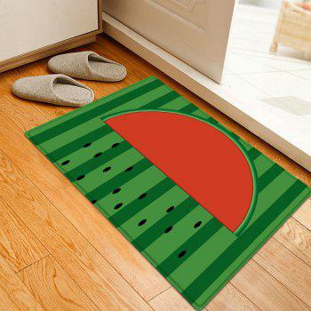 Watermelon Seed Pattern Indoor Outdoor Area Rug - RED W20 INCH * L31.5 INCH