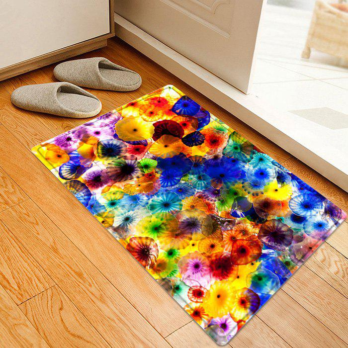 Colorful Pattern Anti-skid Indoor Outdoor Area Rug anti pattern scanner