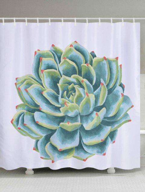 Limited Offer 2018 Succulents Pattern Fabric Bathroom Shower