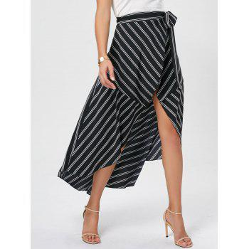 Midi Asymmetrical High Waist Skirt