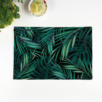 Greenery Print Table Placemat Kitchen Product