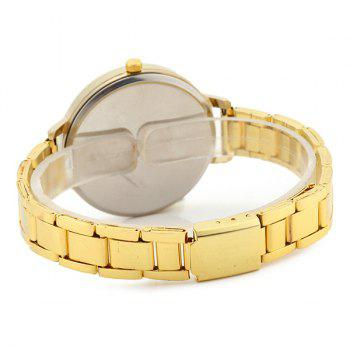 Pretty Lady Face Alloy Watch - Or