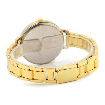 Ladybug Face Alloy Strap Watch - GOLDEN
