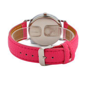 Faux Leather Starry Sky Face Watch - TUTTI FRUTTI