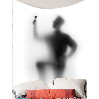 Figure Print Wall Hanging Tapestry - GRAY W79 INCH * L59 INCH