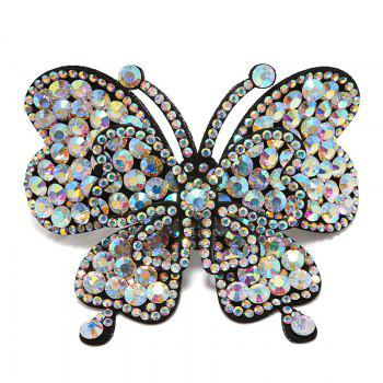 Rhinestone Butterfly Hair Accessory Barrette