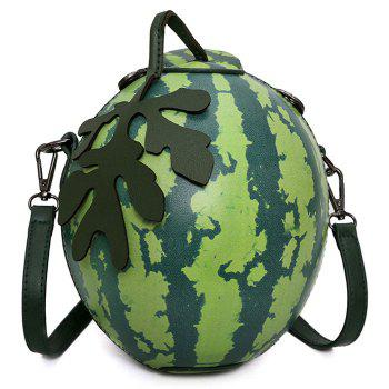 Watermelon Shaped Funny Crossbody Bag