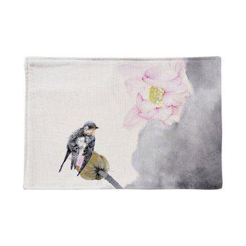 Chinese Ink Painting Table Linen Placemat