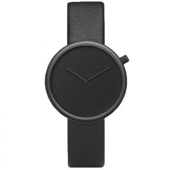 Montre Minimaliste Analogique Sangle en Simili Cuir