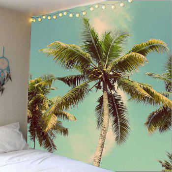 Coconut Tree Print Wall Art Tapestry
