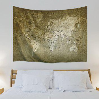 Wall Hanging Vintage World Map Tapestry - W71 INCH * L91 INCH W71 INCH * L91 INCH