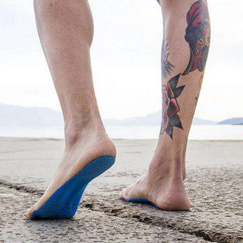 Foot Pads For Summer Beach Stick On Soles Flexible Feet Protection - BLUE BLUE