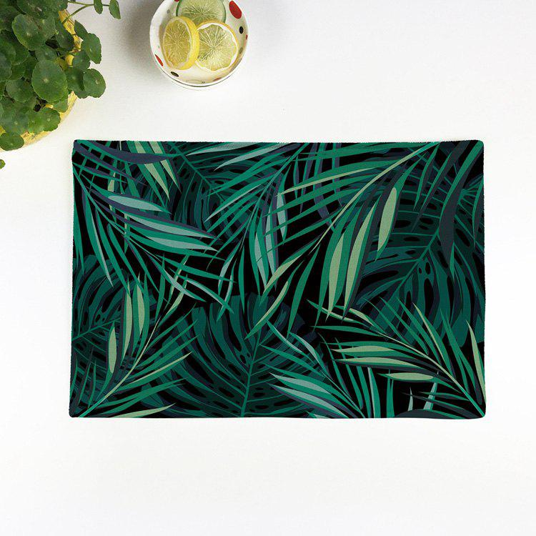 Verrerie Print Table Placemat Kitchen Product - Vert 28*44CM