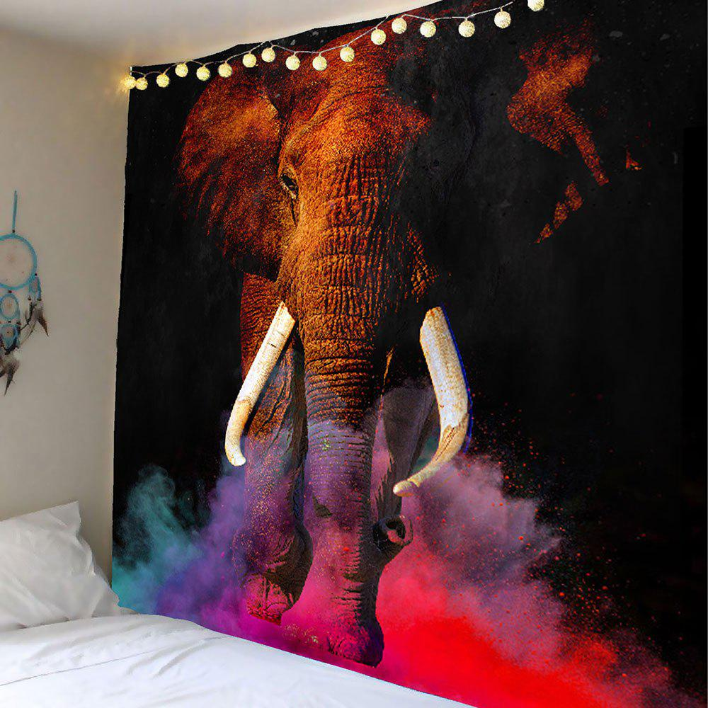 2017 Decorative Elephant Printed Wall Art Tapestry Colorful W Inch L Inch In Wall Tapestries