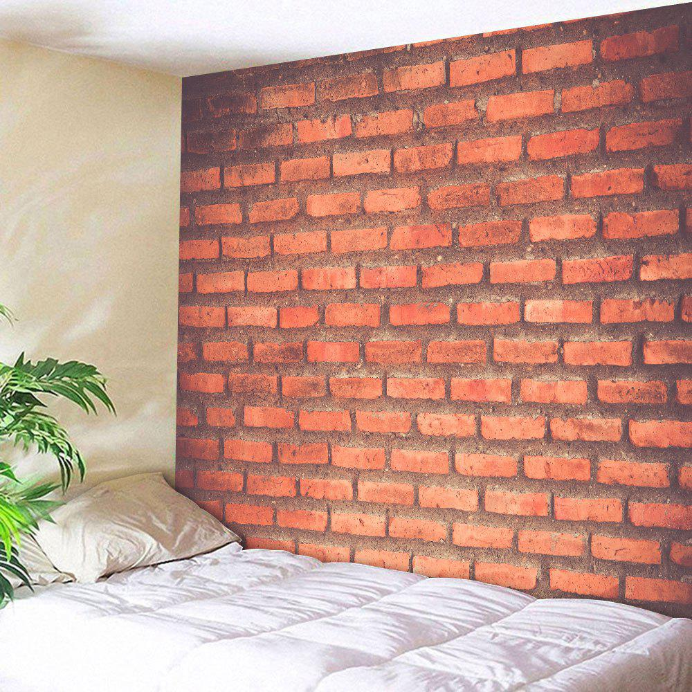 Brick Wall Print Fabric Throw Hanging Tapestry wall hanging watercolor space throw tapestry