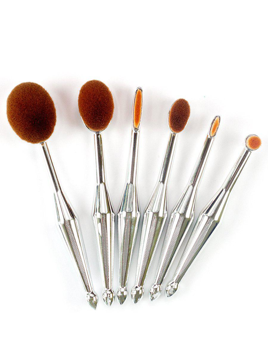 6Pcs Toothbrush Shape Facial Makeup Brushes Set brand new s262dc b32 6pcs set with free dhl ems