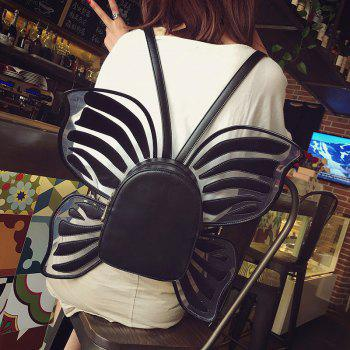 Funny Butterfly Shaped Backpack - BLACK