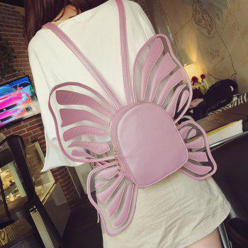 Funny Butterfly Shaped Backpack -  PINK