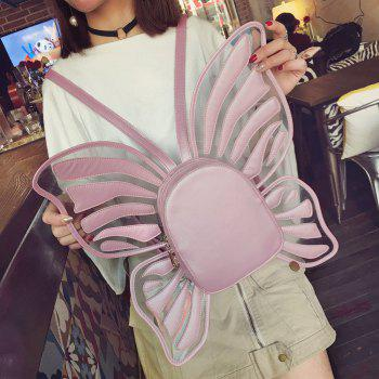 Funny Butterfly Shaped Backpack - PINK PINK