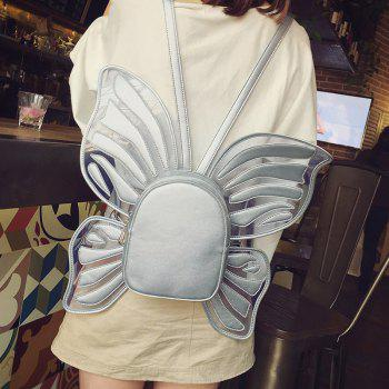 Funny Butterfly Shaped Backpack -  GRAY